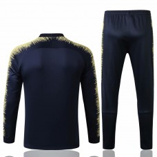 Boca Juniors Blue Stripe Training  Soccer Tracksuit 2018/19