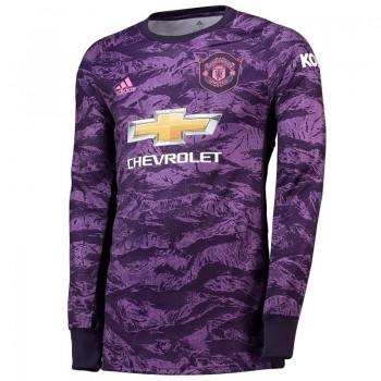Manchester United Home Goalkeeper Soccer T-Shirt 2019-20