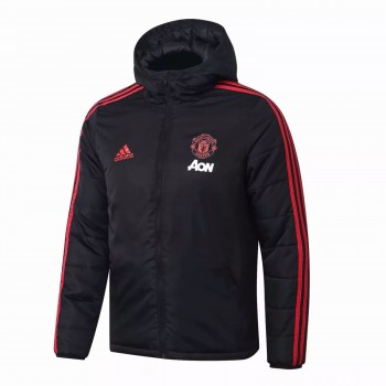 Manchester United Adidas Windbreaker Jacket Black 2020 2021