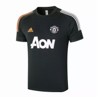 Manchester United Training Soccer T-Shirt Green 2020 2021