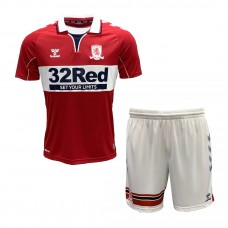 Middlesbrough Home Kids Kit 2020 2021