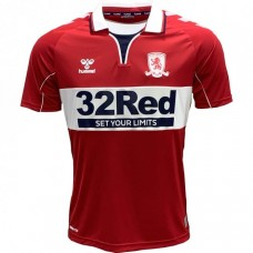Middlesbrough Home Soccer T-Shirt 2020 2021