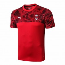 AC Milan Red Training Soccer T-Shirt 2019/20