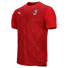 AC Milan Home Stadium Prematch Soccer T-Shirt 2020 2021