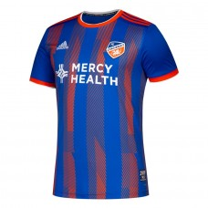 Men's FC Cincinnati adidas Blue 2019 Primary Custom Soccer T-Shirt
