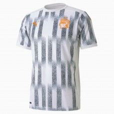 Ivory Coast Away Soccer T-Shirt 2020 2021