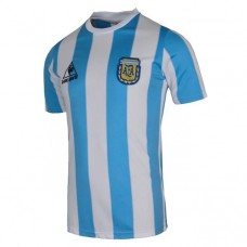 Argentina Home Retro Soccer T-Shirt 1986