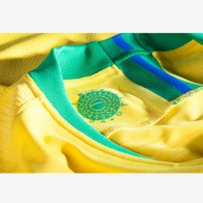 Brazil 2018 Home Soccer T-Shirt - Women