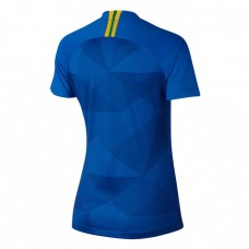 Brazil 2018 Away Soccer T-Shirt - Women