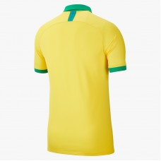 Brazil 2019 Home Long Sleeve Soccer T-Shirt