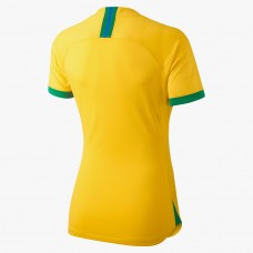 Brazil 2019 Home Soccer T-Shirt - Women