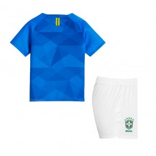 Brazil 2018 Away Kit - Kids