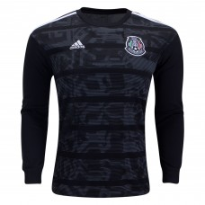 Mexico Long Sleeve Home Soccer T-Shirt 2019